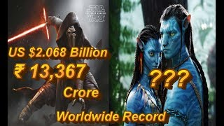Top 20 highest grossing Hollywood movie have earned in Rupees