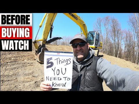 5 Things You Need To Know Before Buying A Used Excavator Or Heavy Equipment For Beginners