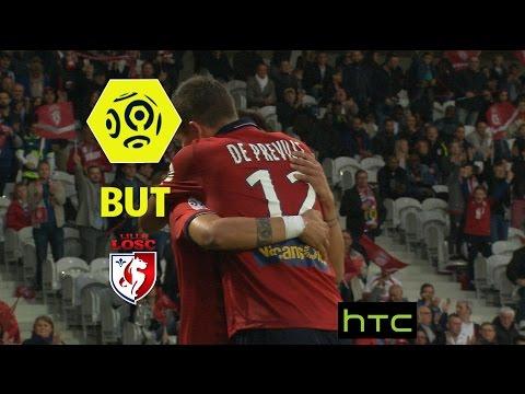 But Nicolas DE PREVILLE (16') / LOSC - FC Nantes (3-0) -  / 2016-17