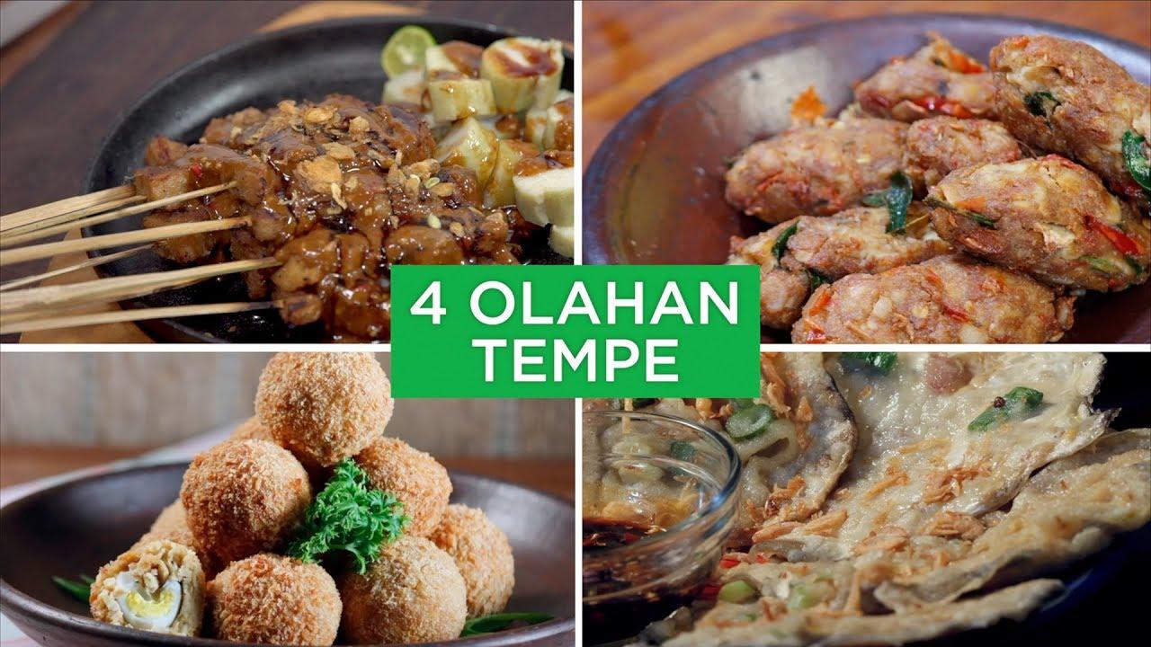 4 Olahan Tempe 4 Ways Youtube