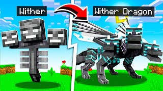 How to TURN ANY MOB into a DRAGON PET in Minecraft!