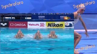 Russian Federation (RUS) Combo Final Kazan World Championships 2015