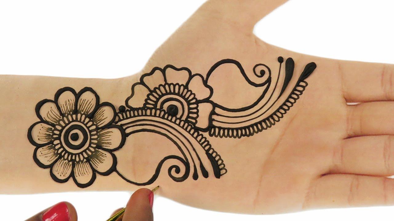 Eid Special Easy Floral Mehndi Design For Hands New Mehndi Design