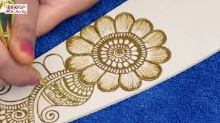 Eid Special Easy Floral Mehndi Design for Hands | New Mehndi Design by Sonia Goyal #290