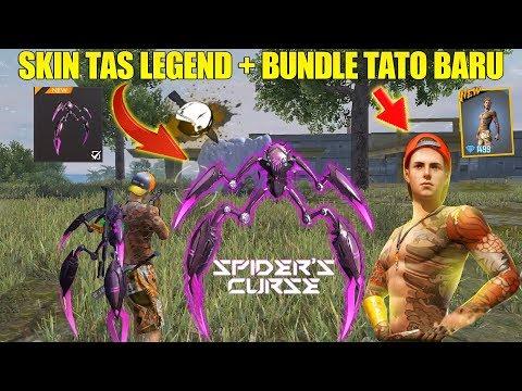 SKIN TAS LEGEND SPIDER'S CURSE & BUNDLE TATO BARU SUMMER HOLIDAYS! BOCORAN UPDATE FREE FIRE