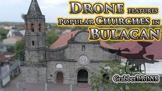Drone Features Popular Churches in Bulacan - Holy Week Special