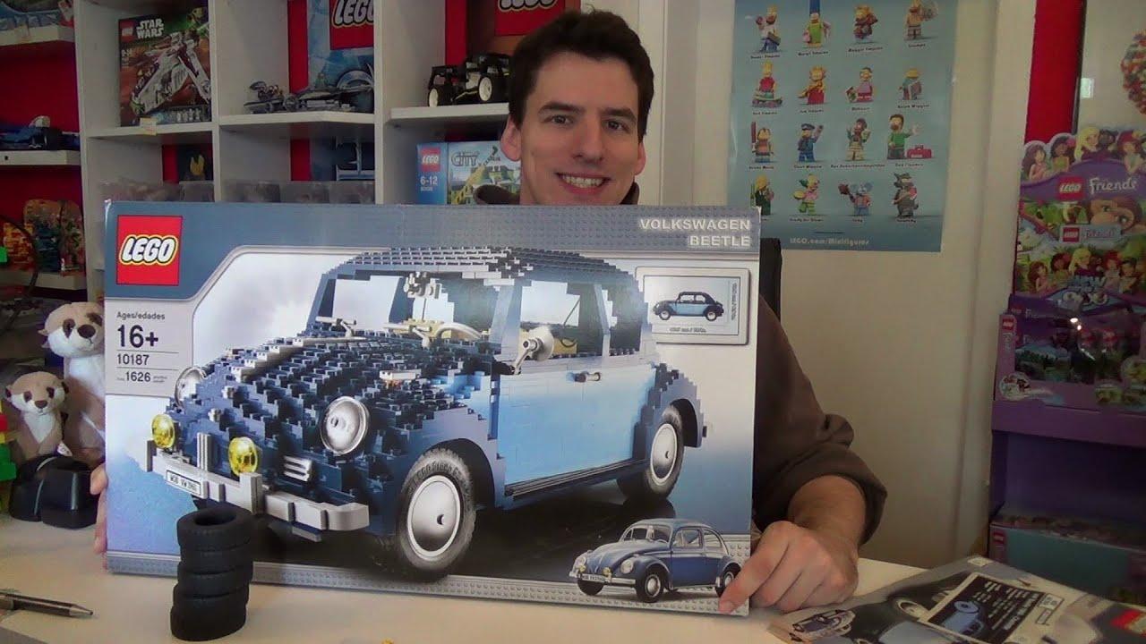 Volkswagen Lego Beetleview Lego 10252 Volkswagen Beetle Lego