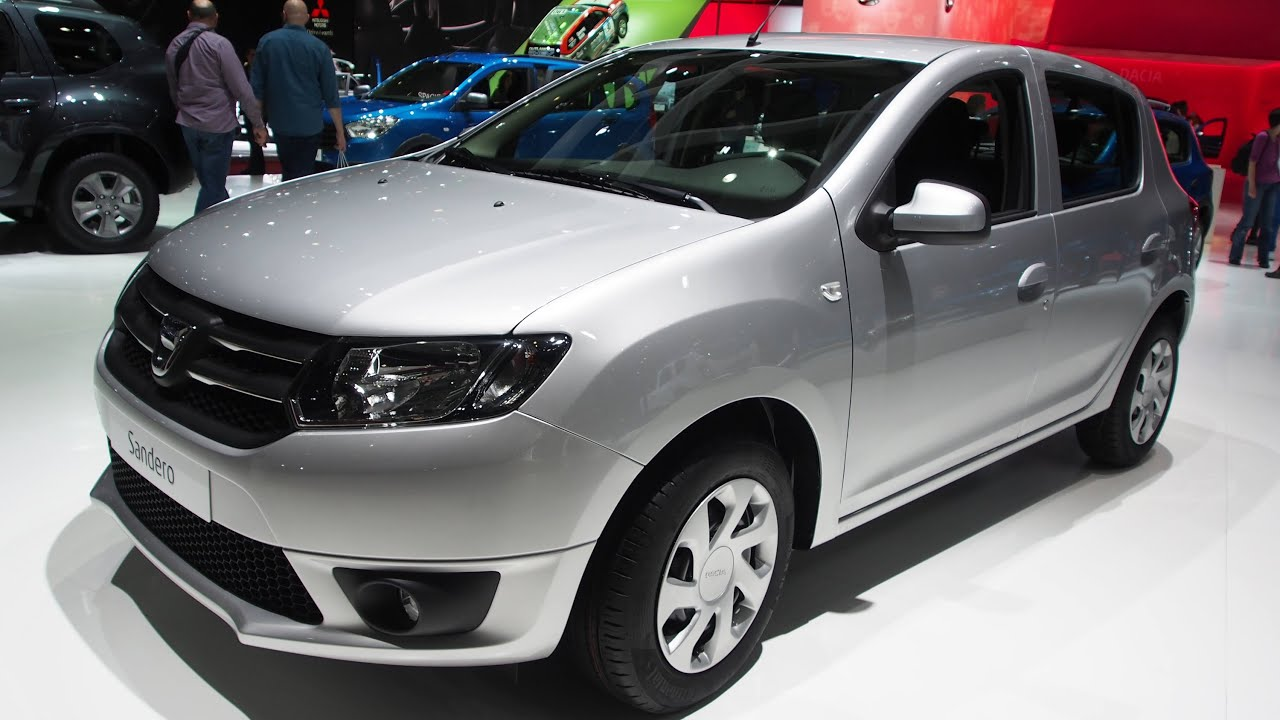 2015 dacia sandero 1 2 16v 75 supreme exterior and for Dacia sandero interior