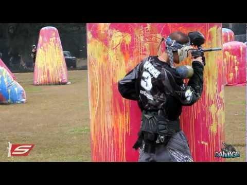 Tampa Bay Damage 2012 - 30 Mins Raw Paintball Footage - Practice PSP Galveston Island Open Layout