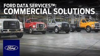 homepage tile video photo for Ford Data Services™ | Ford Commercial Solutions | Ford