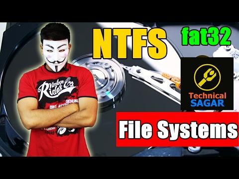 फाइल सिस्टम क्या होता है | Understanding File System | FAT32 Vs NTFS |