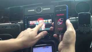 Pioneer AVIC-X850BT APP Mode iphone 5