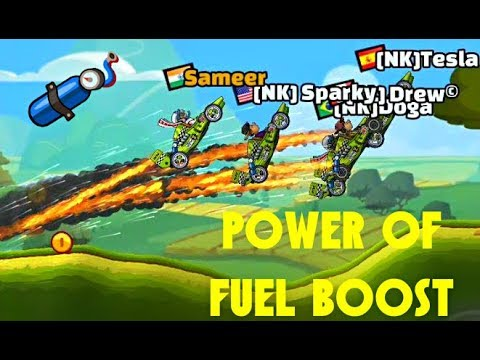 Hill Climb Racing 2 POWER OF FUEL BOOST