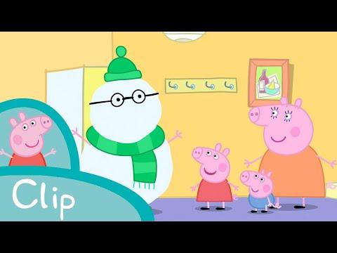 Peppa Pig - Fun In The Snow (clip)