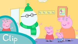Peppa Pig Episodes - Fun in the snow (clip)