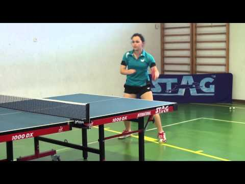 TABLE TENNIS DRILL IN DYNAMI TT CLUB