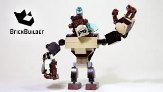 Kijk Lego Chima 70125 Gorilla Legend Beast filmpje