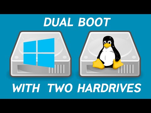Dual Boot Linux & Windows on Two Hard Drives (2016)