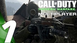 COD Modern Warfare Remastered - Multiplayer Gameplay Part 1 - First Games