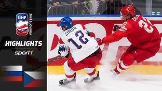 Russland holt Bronze: Russland - Tschechien 3:2  | Highlights | IIHF Eishockey-WM 2019 | SPORT1