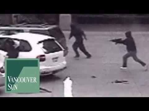 Surveillance footage of Jonathan Bacon slaying | Vancouver Sun