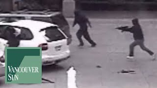 Surveillance footage of Jonathan Bacon slaying | Vancouver Sun