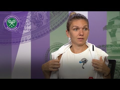 Simona Halep - grass is 8/10 for me as a surface! | Wimbledon