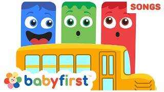 Gambar cover Wheels on The Bus | The Color Crew Musical | Nursery Rhymes for Babies | Colors Song | Baby First