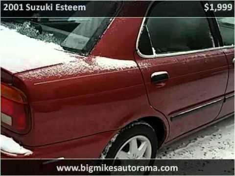 2001 Suzuki Esteem Used Cars North Versailles PA