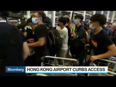 Hong Kong Airport Curbs Access