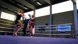 Annie Eriksson Malmö Muay Thai vd Denise Mellor Frontier Battle 29 Maj 2010