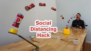 How to Pass The Pepper While Social Distancing