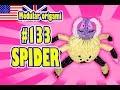 3D MODULAR ORIGAMI #133 SPIDER