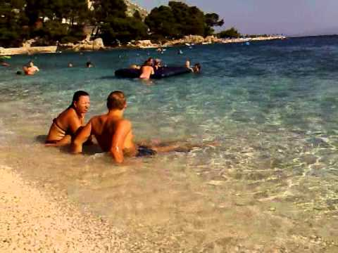 beach Hotel Marina, Brela.mp4