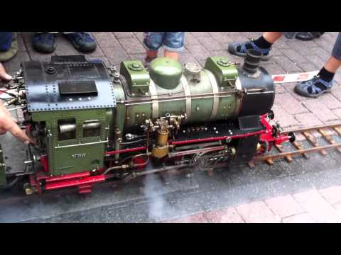 Steam Locomotive - 2011 The new transport 01