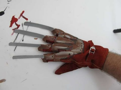 Make a Freddy Krueger Glove