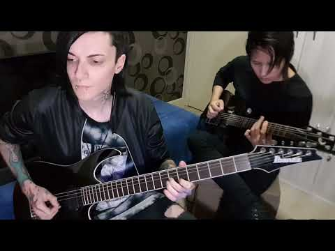 Bullet For My Valentine - Over It (Guitar Tribute) Tabs On Description.