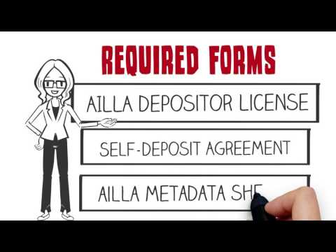 How to make a deposit to AILLA