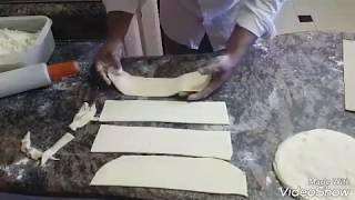 Samosa pastry Patti strips step by step detailed video how to make