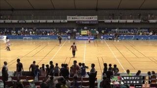 日本ハンドボールリーグ 琉球コラソン vs トヨタ車体 18時〜
