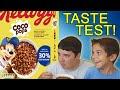Coco Pops (Old Recipe VS New Recipe) Taste Test!
