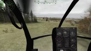 Arma 2 Having Fun With The Little Bird (Low Flying)