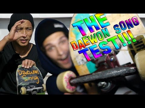 DAEWON SONG CHALLENGE | Tight VS Loose Trucks!