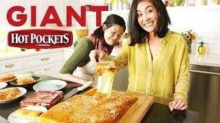 Lo Makes A Giant 11,500 Calorie Hot Pocket 😱  | Delish | Whoa, Lo