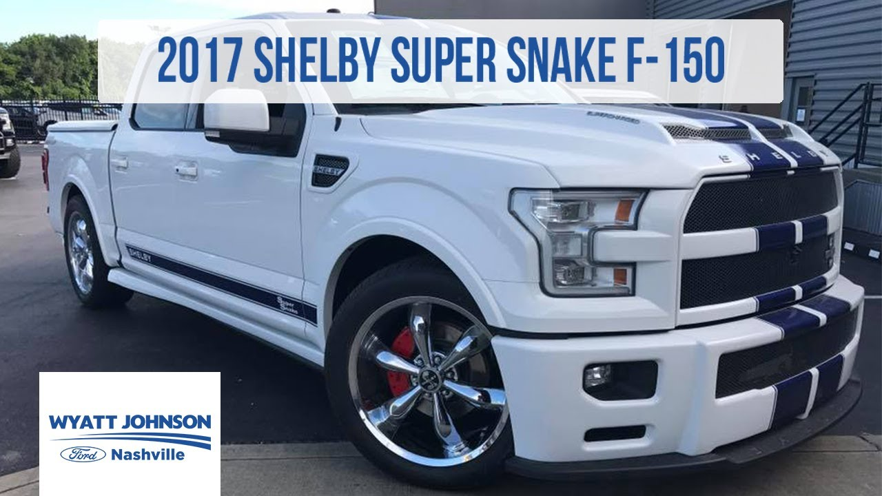 Super Snake Shelby F150 >> 2017 Shelby Super Snake F 150 750hp Supercharged For Sale