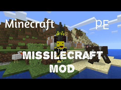 MCPE Missile Craft Mod [ Nuke Your Enemies!!! ] [ 14.0 ]
