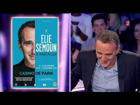 Elie Semoun - On n'est pas couché 24 septembre 2016 #ONPC