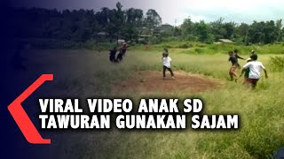 Viral Video Anak SD Tawuran