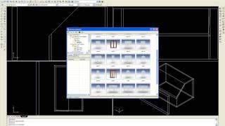Modelowanie 3D B 8 Budowa skośnego dachu i wstawianie okna dachowego