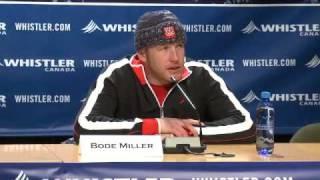 Bode Miller, gold medalist Men
